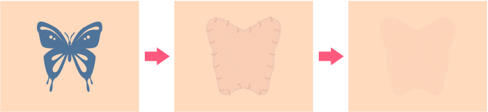 皮膚移植の種類イメージ