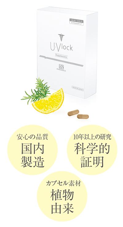 美容医療式日焼け対策その1☆ 医療用紫外線対策サプリメント 【U・Vlock】って何者?