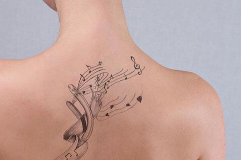 タトゥー除去で跡を分からないようにしたい!跡を残さない治療法とは?